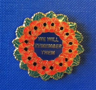 WE WILL REMEMBER THEM PIN