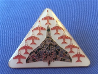 VULCAN & RED ARROWS PIN