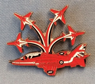 RED ARROWS MULTI AIRCRAFT PIN