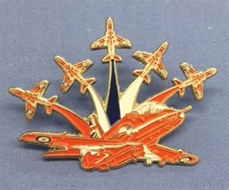 RED ARROWS RED, WHITE & BLUE PIN