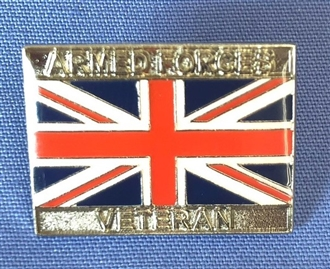 ARMED FORCES VETERAN PIN