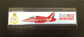 RED ARROWS RULER