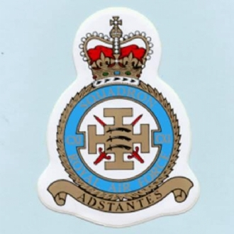 111 SQN CREST STICKER