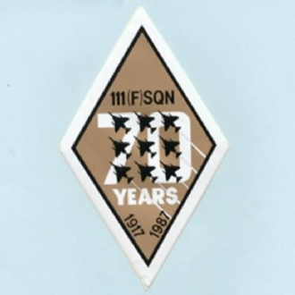 111 SQN 70 YEARS  STICKER
