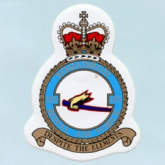 115 SQN CREST STICKER