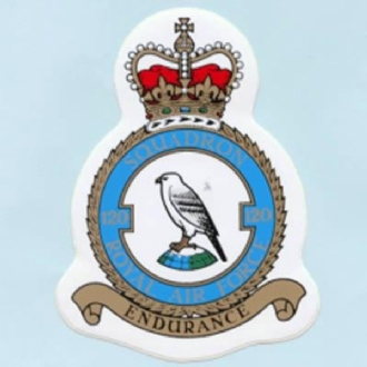 120 SQN CREST STICKER