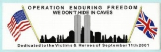 OPERATION ENDURING FREEDOM BUMPER STICKER