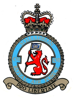 106 SQN CREST STICKER
