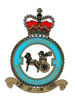 1 SQN RAF REGIMENT CREST STICKER