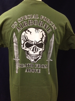 US SPECIAL FORCES AIRBOURNE TSHIRT