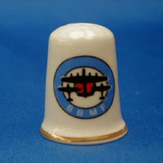 BATTLE OF BRITAIN MEMORIAL FLIGHT ROUND DESIGN THIMBLE