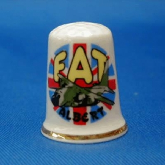 FAT ALBERT DESIGN THIMBLE