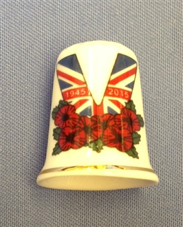 VE DAY THIMBLE