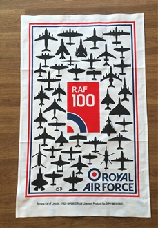 RAF 100 TEA-TOWEL