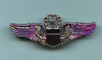 USAF COMMAND PILOT WING PIN BADGE