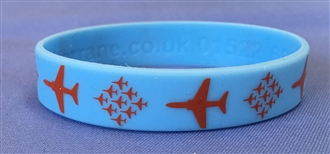 RED ARROWS WRISTBAND (BLUE)