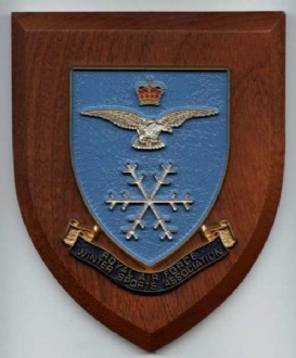 RAF WINTER SPORTS ASSOC WALLSHIELD